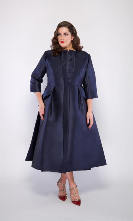 Jackie O. dress coat