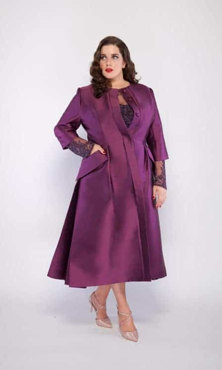 Jackie O. Dress Coat