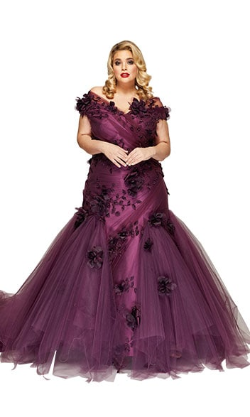 Rose des vents gown